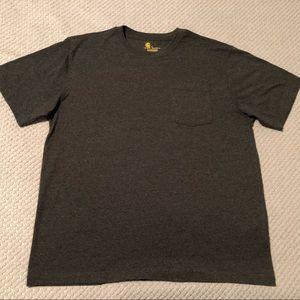 Carhartt Dark Heather Grey Short Sleeve T-Shirt